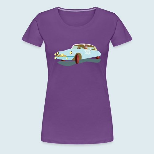 Citroen DS Rallye Monte Carlo - Frauen Premium T-Shirt