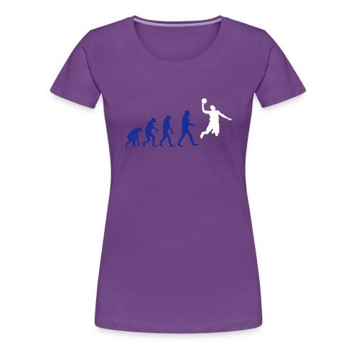 Basketball evolution logo - T-shirt Premium Femme