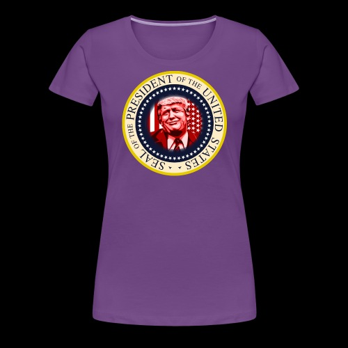 POTUS SEAL DONALD TRUMP - Women's Premium T-Shirt