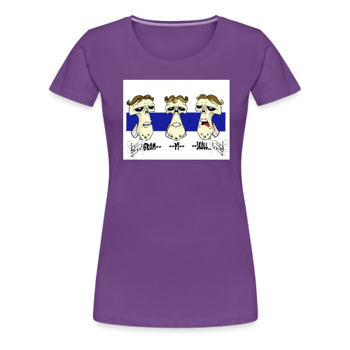barber shop001 20x15 copy jpg - Women's Premium T-Shirt