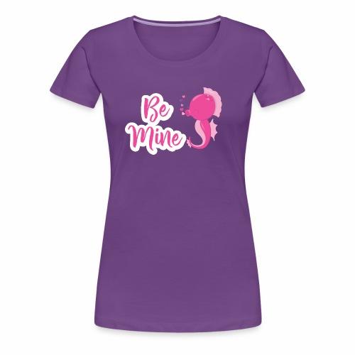 Seepferdchen verliebt - Frauen Premium T-Shirt