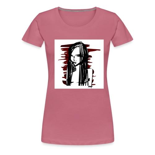 Rebellious - Premium-T-shirt dam