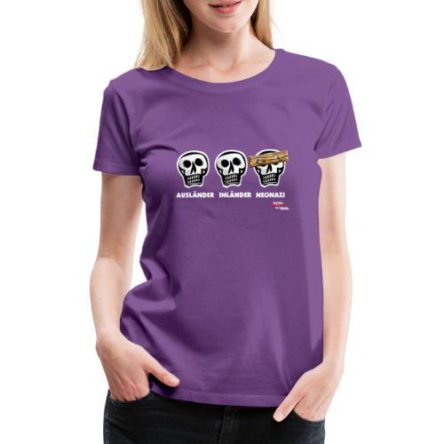 dreischaedel - Frauen Premium T-Shirt