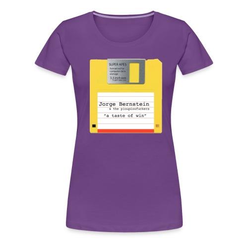 FloppyDisc png - T-shirt Premium Femme