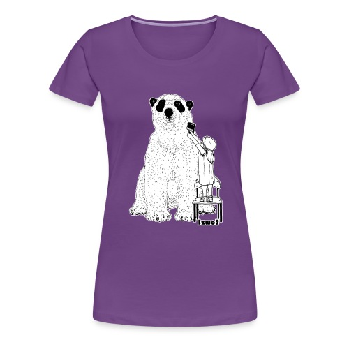 Bär - Frauen Premium T-Shirt