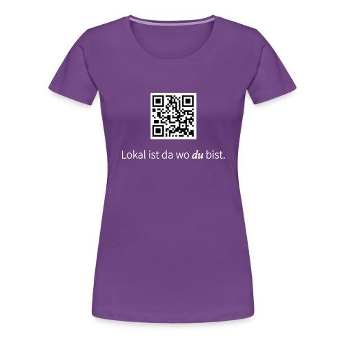 shirt druckdatei - Frauen Premium T-Shirt