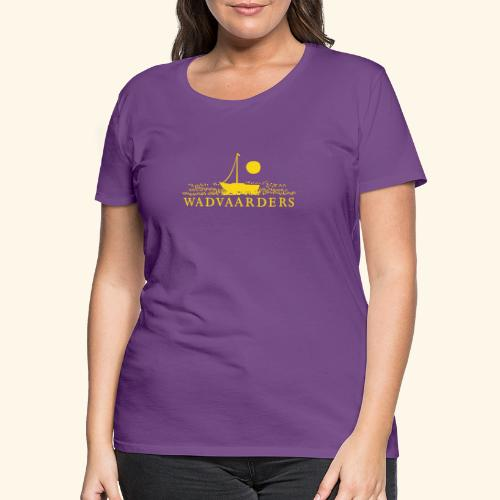 Wadvaarderslogo - Vrouwen Premium T-shirt