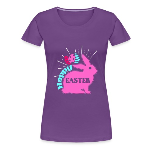 Happy Easter - Frohe Ostern - Frauen Premium T-Shirt