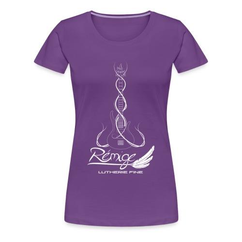 Logo Rémige art Fantasy blanc - T-shirt Premium Femme