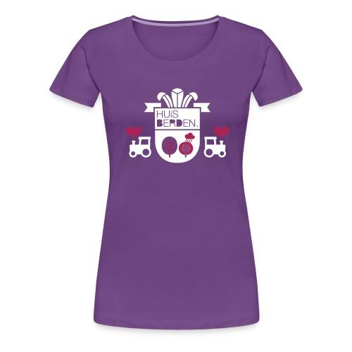 Wappen Huisberden - Frauen Premium T-Shirt