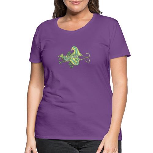 190610 bird prehistoric auxia - Camiseta premium mujer