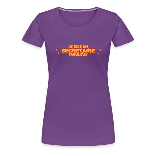Secrétaire / Assistante / Secrétariat / Bureau - T-shirt Premium Femme