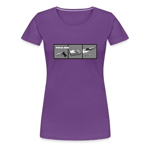 Matalobos - Camiseta premium mujer