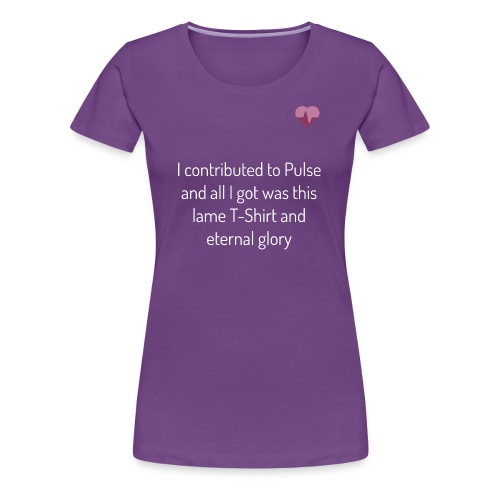 pulse shirt1 black - Premium-T-shirt dam