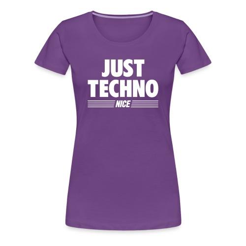 Just techno - Women's Premium T-Shirt