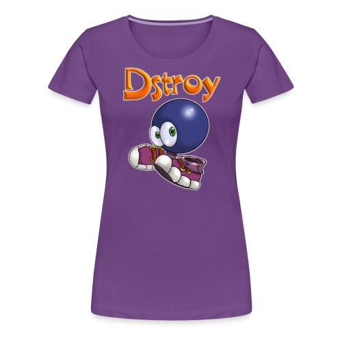 Dstroy - Blue Boodies - Women's Premium T-Shirt