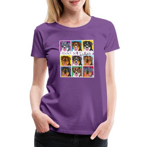 Aussies Are Pop - Women's Premium T-Shirt