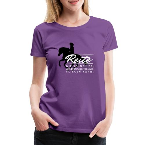 Schutzengel - Frauen Premium T-Shirt
