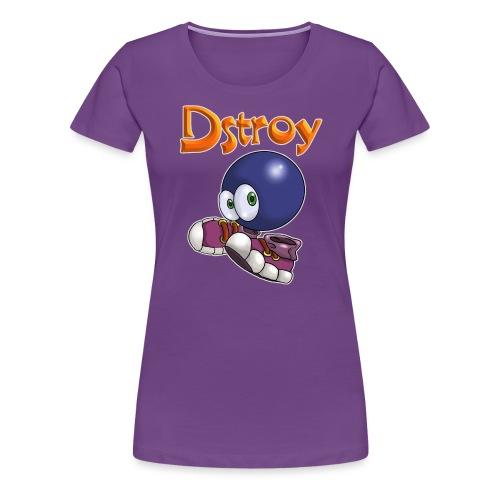 Dstroy - Blue Boodies - Women's Premium T-Shirt