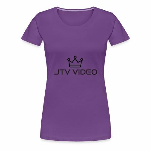 JTV VIDEO - Women's Premium T-Shirt