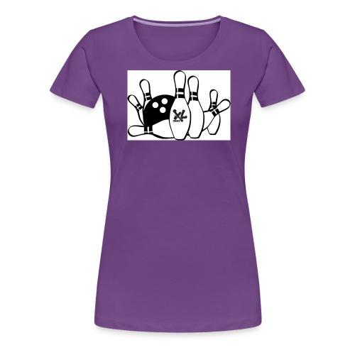 bowl logo jpg - T-shirt Premium Femme