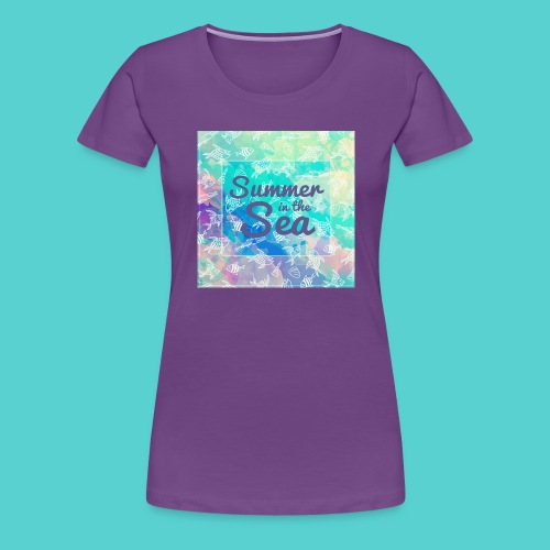 Summer in the Sea - T-shirt Premium Femme