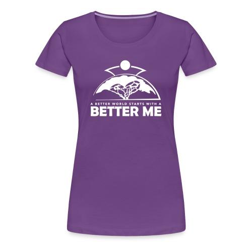 Better Me - White - Women's Premium T-Shirt