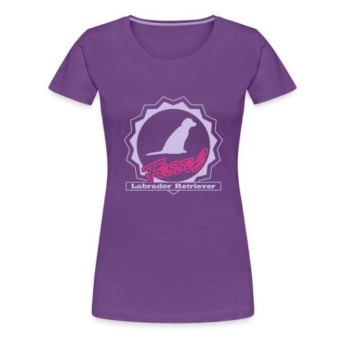 Fessel Labrador Retriever - Frauen Premium T-Shirt
