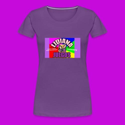 LIDIANA JUEGOS - Women's Premium T-Shirt