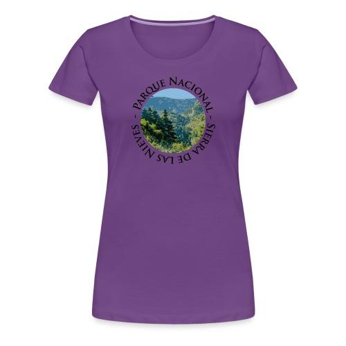 Parque Nacional Sierra de las Nieves - Camiseta premium mujer