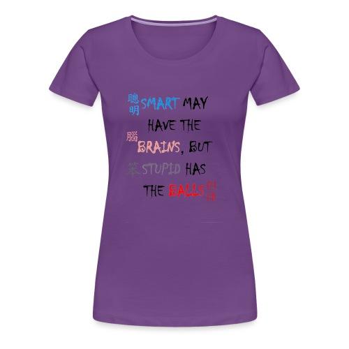 Smart Balls - Frauen Premium T-Shirt