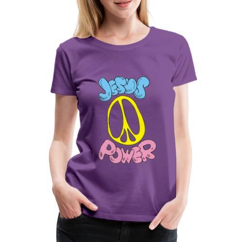 JESUS POWER - Women's Premium T-Shirt