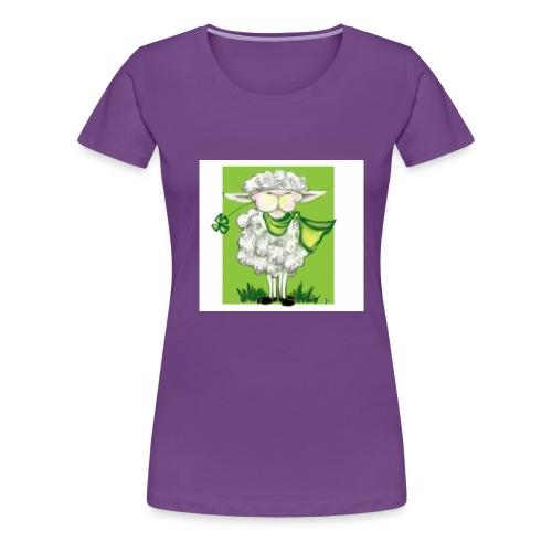 grün = mäh² - Frauen Premium T-Shirt