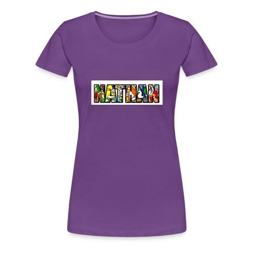 ClubPenguinFillNathan - Vrouwen Premium T-shirt