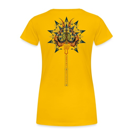 Parvati Records Trishula - Women's Premium T-Shirt