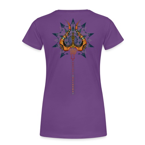 Parvati Records Trishula - Women's Premium T-Shirt