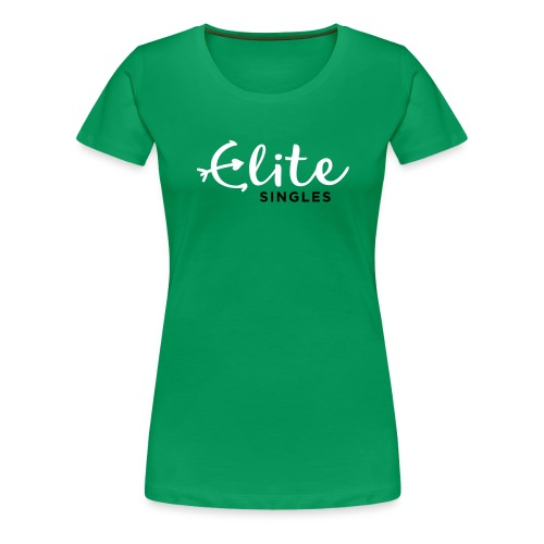 EliteSingles Logo EN Light - Frauen Premium T-Shirt
