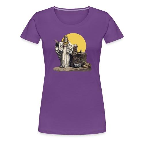 Druido (Sole Luna) - Maglietta Premium da donna