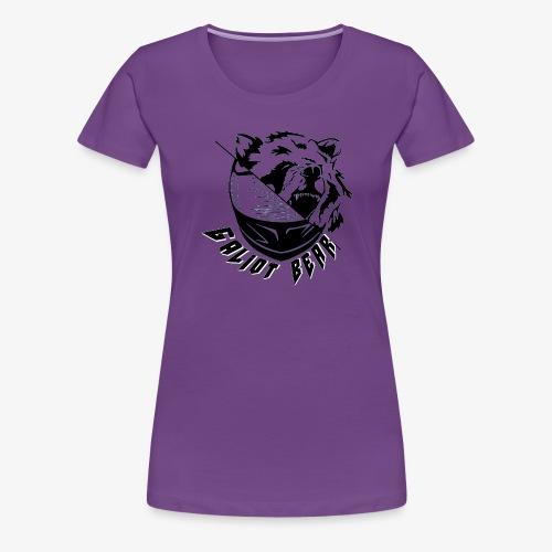 Galiot Bear Logo schwarz - Frauen Premium T-Shirt