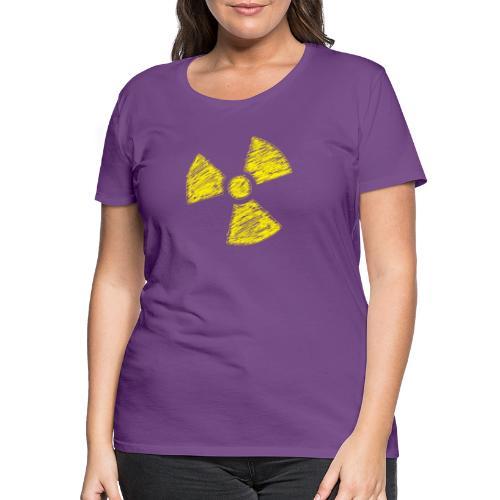 Radioactive - Vrouwen Premium T-shirt