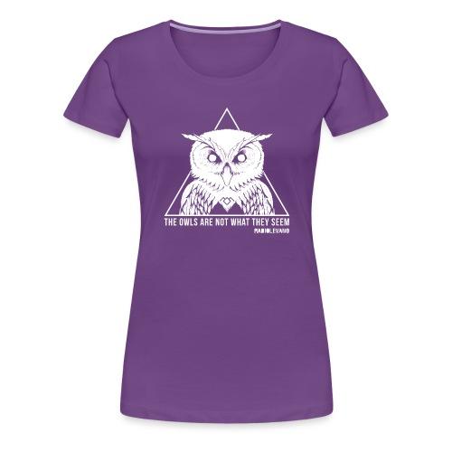 THE OWLS ARE NOT WHAT THEY SEEM - RADIOLEVANO - Maglietta Premium da donna