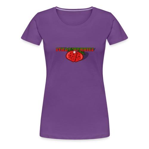 Strawberries - Premium-T-shirt dam