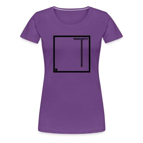 Tecnica cuadrada - Camiseta premium mujer