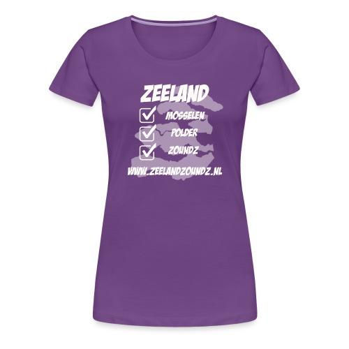 Mosselen - Polder - ZoundZ #girlZ edition - Vrouwen Premium T-shirt