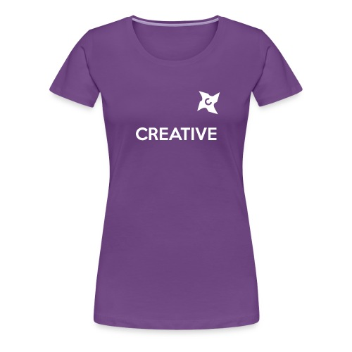 Creative long urban shirt - Dame premium T-shirt