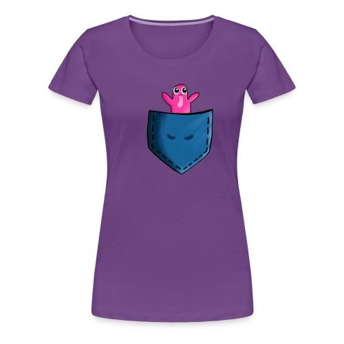 Lomme monster - Dame premium T-shirt