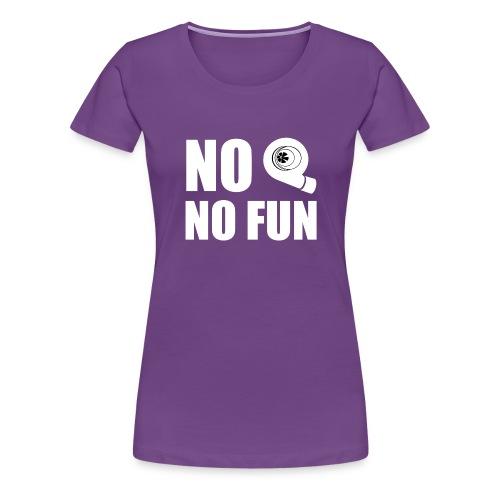 No turbo no fun - Maglietta Premium da donna