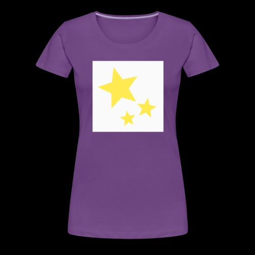Dazzle Zazzle Stars - Women's Premium T-Shirt