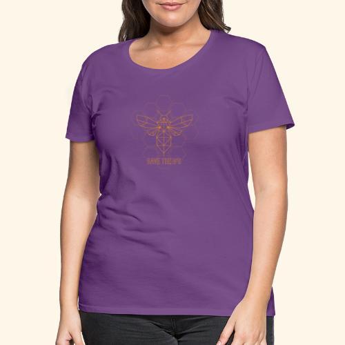 Save the B´s - Frauen Premium T-Shirt