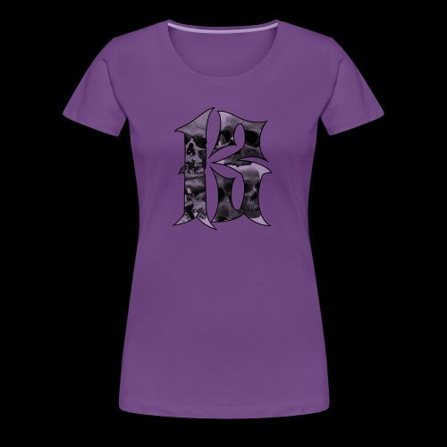 Skull thirteen - Premium-T-shirt dam